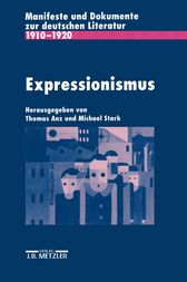 Expressionismus by Thomas Anz