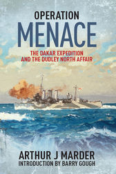 Operation Menace by Arthur J. Marder