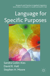 Language for Specific Purposes by Sandra Gollin-Kies