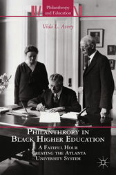 Philanthropy in Black Higher Education by V. Avery