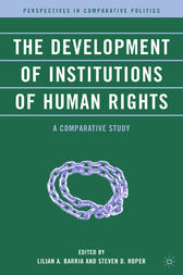 The Development of Institutions of Human Rights by L. Barria