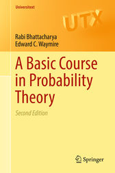 A Basic Course in Probability Theory by Rabi Bhattacharya