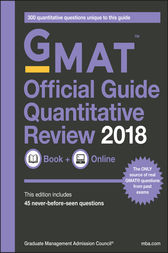 GMAT Official Guide 2018 Quantitative Review: Book + Online by GMAC (Graduate Management Admission Council)