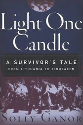 Light One Candle by Solly Ganor