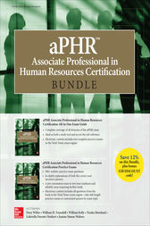 aPHR Associate Professional in Human Resources Certification Bundle