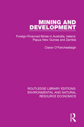 Mining and Development by Ciaran O'Faircheallaigh