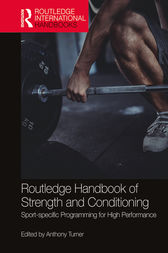 Routledge Handbook of Strength and Conditioning by Anthony Turner