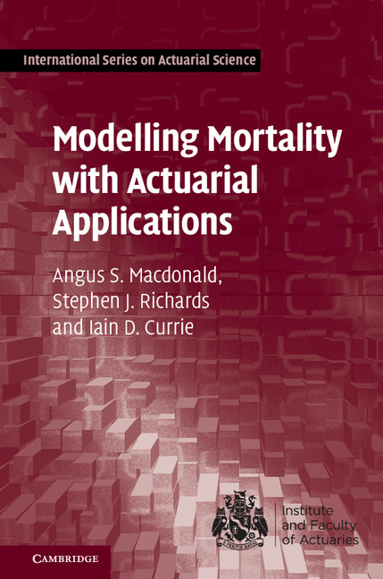 Download Ebook Modelling Mortality with Actuarial Applications by Angus S. Macdonald Pdf