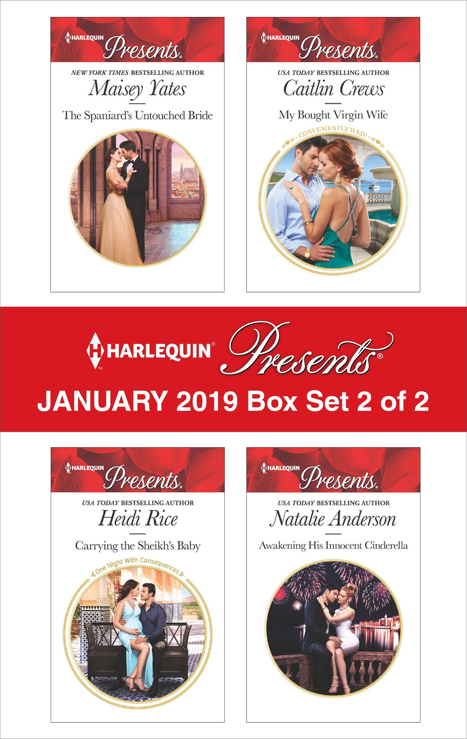 Harlequin Presents January 2019 - Box Set 2 of 2