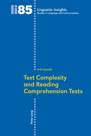 Text Complexity and Reading Comprehension Tests - >100