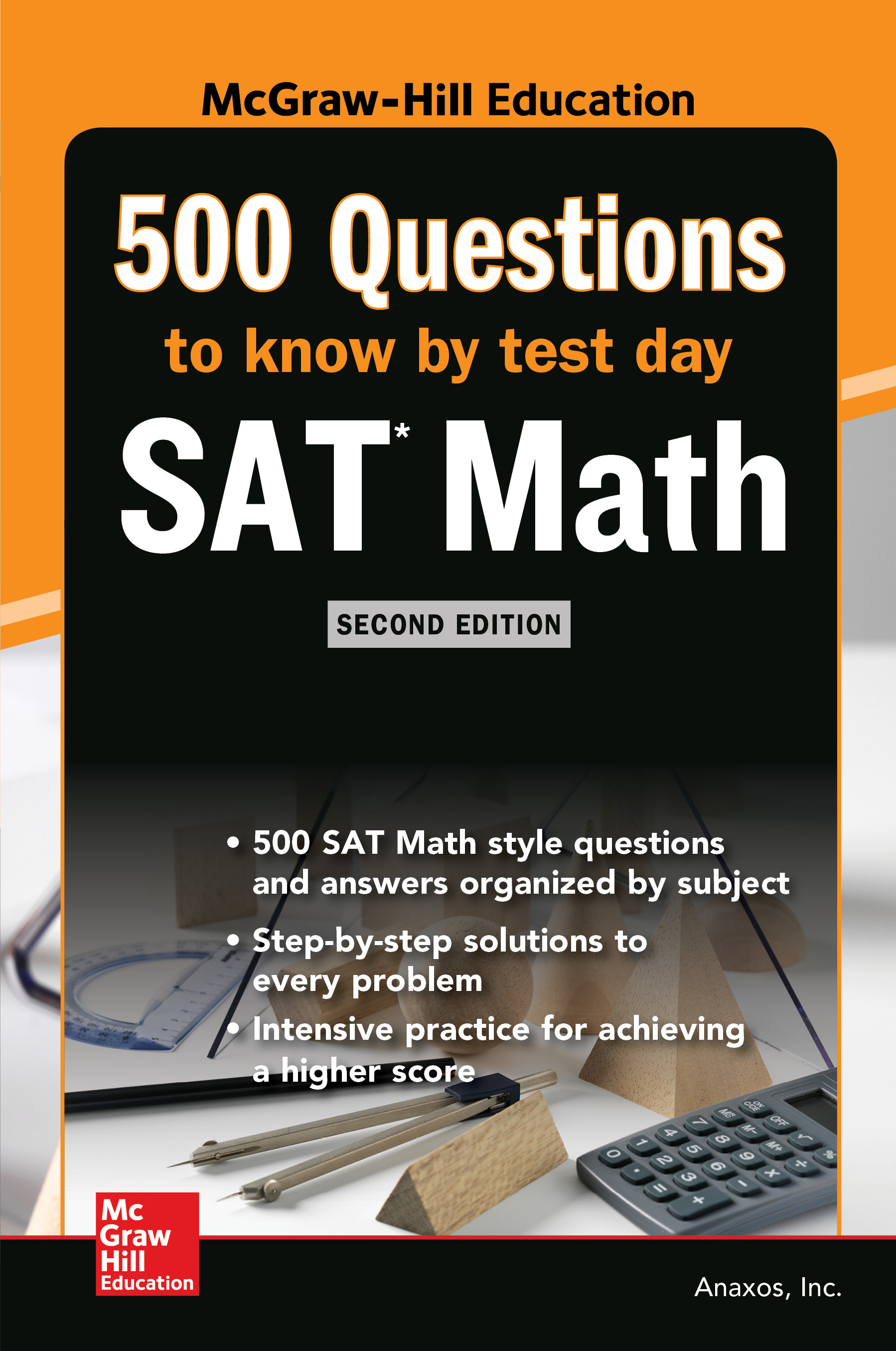 500 SAT Math Questions to Know by Test Day, Second Edition