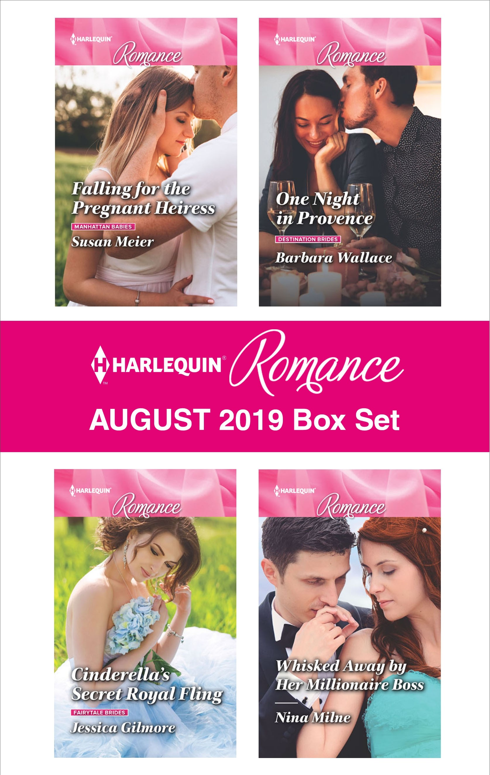 Harlequin Romance August 2019 Box Set