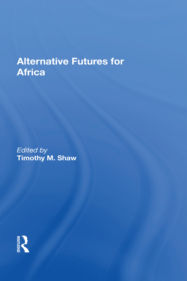 Alternative Futures For Africa - 25-49.99