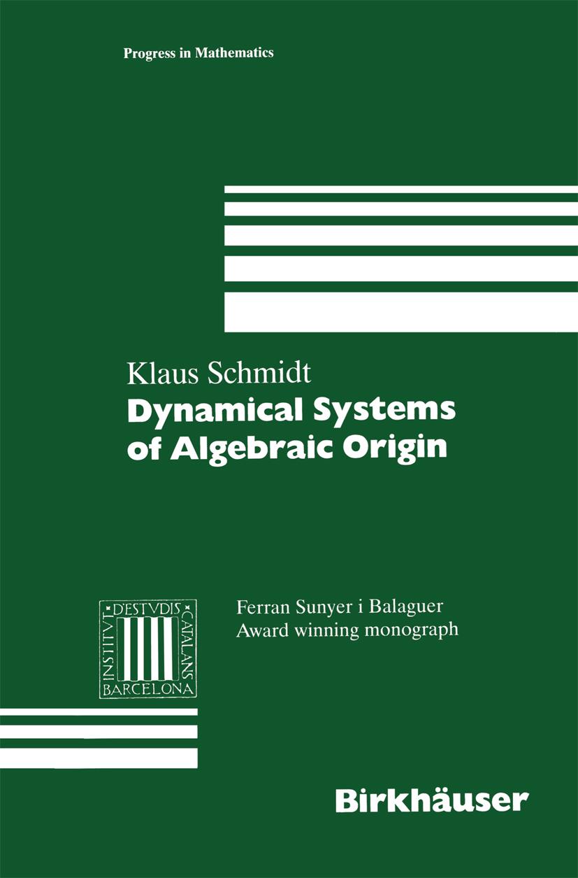 Dynamical Systems of Algebraic Origin - 50-99.99